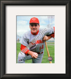 Pete Rose 1967 Posed Framed Photographic Print