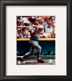 Boog Powell - Batting Framed Photographic Print