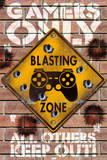Pericolo di esplosione, in inglese Poster