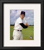 Carl Yastrzemski Posed Framed Photographic Print