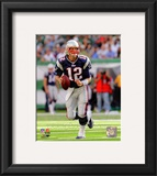 Tom Brady 2010 Action Framed Photographic Print