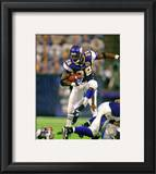 Adrian Peterson 2010 Action Framed Photographic Print