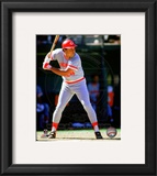 Tony Perez 1985 Action Framed Photographic Print