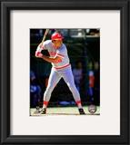 Tony Perez 1985 Action Framed Photographic Print