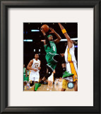 Rajon Rondo Game Two of the 2009-10 NBA Finals Framed Photographic Print