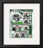 2010 New York Jets Composite Framed Photographic Print
