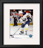 Jason Pominville 2010-11 Action Framed Photographic Print