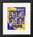 2009 Minnesota Vikings NFC West Divison Champions Framed Photographic Print