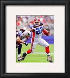 Fred Jackson 2010 Action Framed Photographic Print