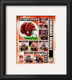 2010 Cincinnati Bengals Team Composite Framed Photographic Print