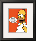 The Simpsons - Homer Prints