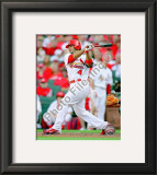 Yadier Molina 2010 Framed Photographic Print
