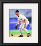 Don Mattingly 1995 Action Framed Photographic Print