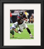 Andre Johnson 2010 Action Framed Photographic Print