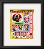 2010 Washington Redskins Composite Framed Photographic Print
