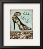 Leopard Shoe Posters by Todd Williams