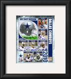 2010 Dallas Cowboys Team Composite Framed Photographic Print