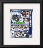2010 Dallas Cowboys Team Composite Framed Photographic Print