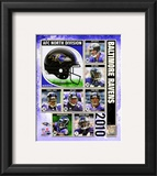 2010 Baltimore Ravens Team Composite Framed Photographic Print