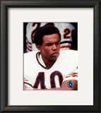 Gale Sayers - Close up, sidelines Framed Photographic Print