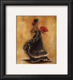 Flamenco Dancer II Prints by Caroline Gold
