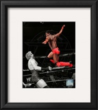 Kofi Kingston 2010 Spotlight Action Framed Photographic Print