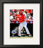 Howie Kendrick 2010 Framed Photographic Print