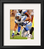 Ndamukong Suh 2010 Action Framed Photographic Print