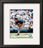 Jon Lieber - Pitching Framed Photographic Print