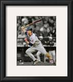 Justin Morneau 2010 Spotlight Action Framed Photographic Print