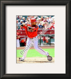 Justin Upton 2010 Framed Photographic Print