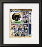 2010 St. Louis Rams Team Composite Framed Photographic Print