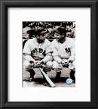 Jimmie Foxx / Lou Gehrig Framed Photographic Print