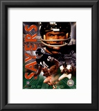 Gale Sayers - Legends Cpmposite Framed Photographic Print