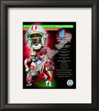 Jerry Rice Class Of 2010 HOF Framed Photographic Print