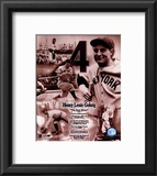 Lou Gehrig - Legends of the Game Composite Framed Photographic Print