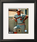 Earl Weaver - Manager Framed Photographic Print