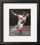 Stephen Strasburg 2010 Collection Framed Photographic Print