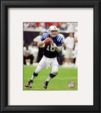 Peyton Manning 2010 Action Framed Photographic Print