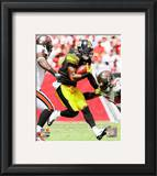 Mike Wallace 2010 Action Framed Photographic Print