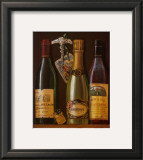 Champagne Bottles I Posters by Mariapia & Marinella Angelini