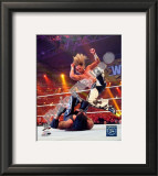 Shawn Michaels Wrestlemania Framed Photographic Print