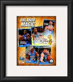 """2009 Finals - Magic """"Big 5"""" Framed Photographic Print"""