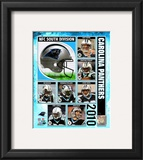 2010 Carolina Panthers Team Composite Framed Photographic Print