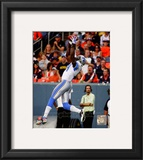 Calvin Johnson 2010 Action Framed Photographic Print