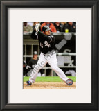Carlos Quentin 2010 Framed Photographic Print