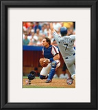 Gary Carter - Catchers gear Framed Photographic Print