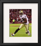 Marques Colston 2010 Action Framed Photographic Print
