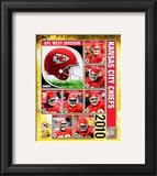 2010 Kansas City Chiefs Team Composite Framed Photographic Print