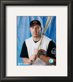 Adam Dunn - Studio Portrait Framed Photographic Print